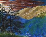 Smokies Sunset, Smoky Mountain National Park